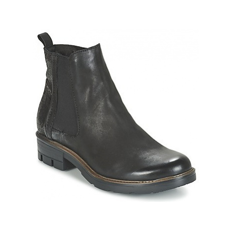 Dream in Green FENOULLIA women's Mid Boots in Black