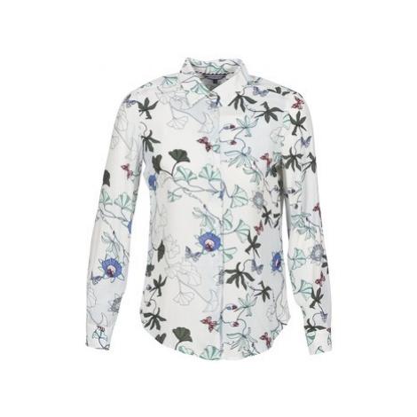 Tommy Hilfiger MIRAN-SHIRT-LS women's Shirt in White