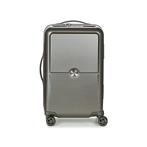 Delsey TURENNE CAB 4DR 55CM men's Hard Suitcase in Grey