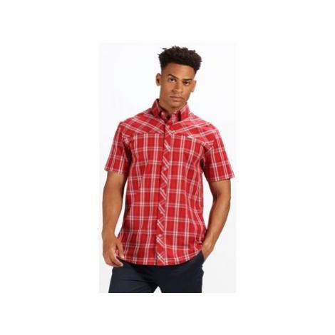 Red men's informal shirts