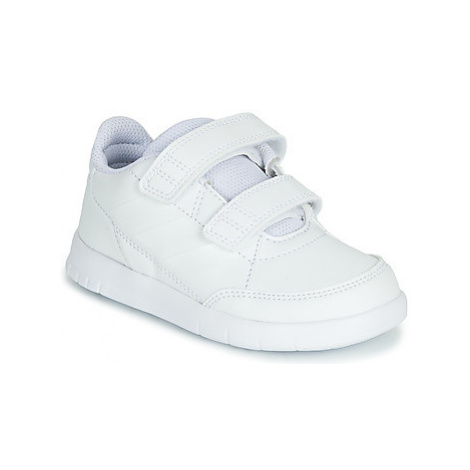 Adidas ALTASPORT CF I girls's Children's Shoes (Trainers) in White