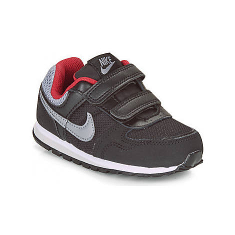 Nike MD RUNNER TODDLER boys's Children's Shoes (Trainers) in Black
