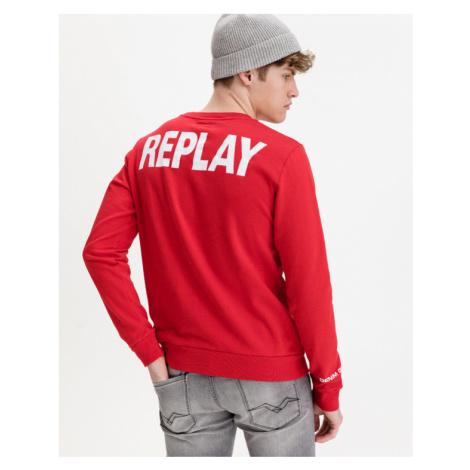 Replay Sweatshirt Red