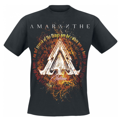 Amaranthe - Inferno - T-Shirt - black