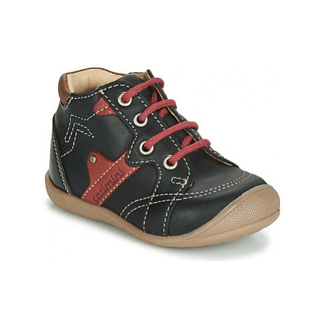 Catimini GASTON boys's Children's Shoes (High-top Trainers) in Black