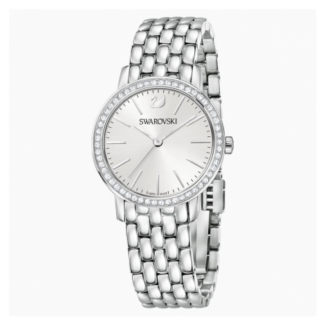 Graceful Watch, Metal bracelet, Stainless steel Swarovski