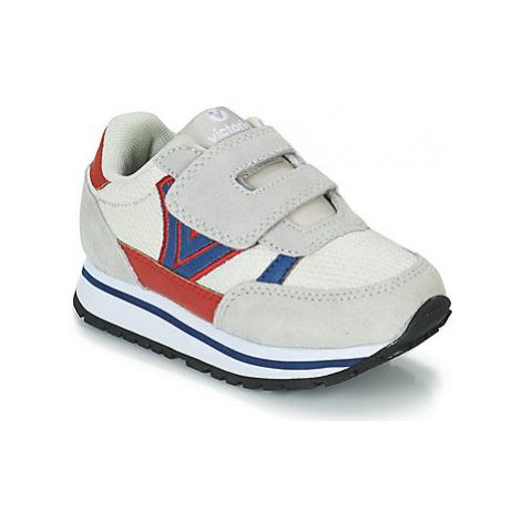 Victoria COMETA MALLA MULTICOLOR boys's Children's Shoes (Trainers) in Beige