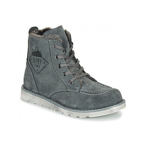 Citrouille et Compagnie LISITON boys's Children's Mid Boots in Grey
