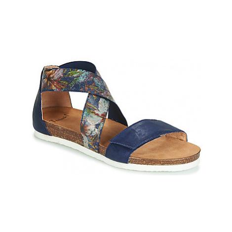 Think DUMO women's Sandals in Blue