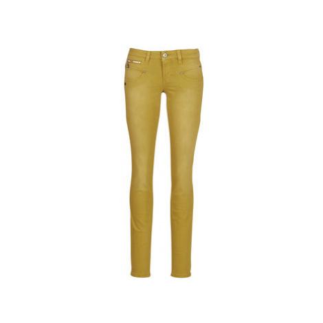Freeman T.Porter ALEXA SLIM NEW MAGIC COLOR women's Skinny Jeans in Yellow Freeman T. Porter