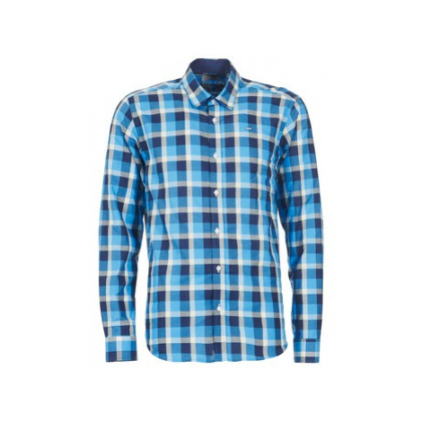 Casual Attitude ECARI men's Long sleeved Shirt in Blue