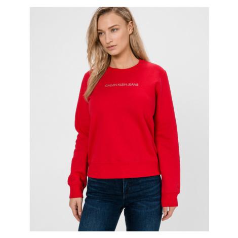 Calvin Klein Sweatshirt Red