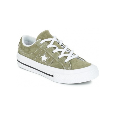 Converse ONE STAR OX girls's Children's Shoes (Trainers) in White