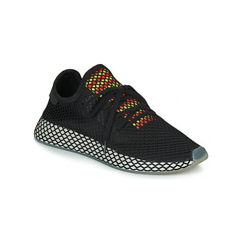 Adidas DEERUPT RUNNER men's Shoes (Trainers) in Black