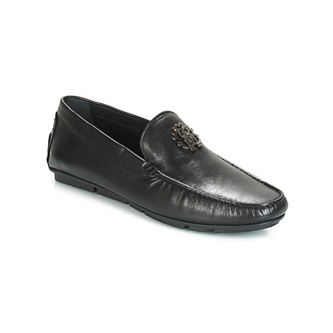 Roberto Cavalli AVALON men's Loafers / Casual Shoes in Black