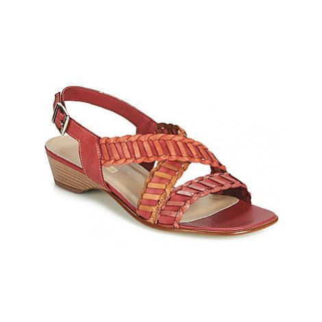 Samoa RITALIS women's Sandals in Red