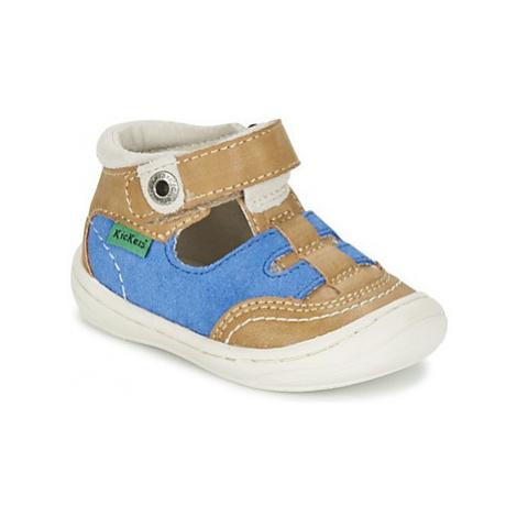 Kickers ZELOU boys's Children's Sandals in Brown