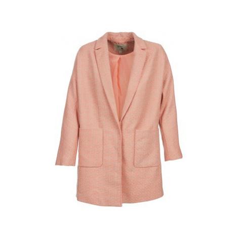 Yumi AEKA women's Coat in Pink