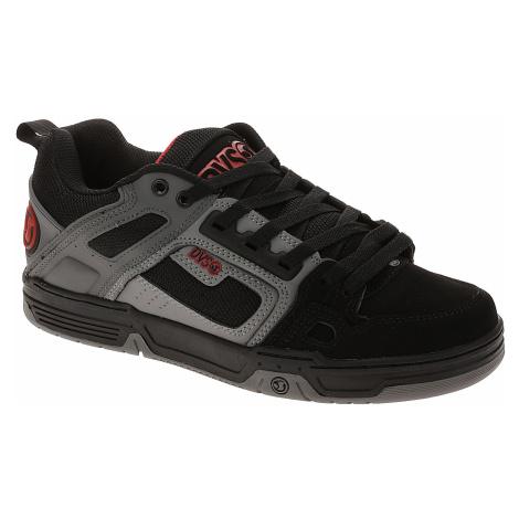 shoes DVS Comanche - Black/Charcoal/Red/Nubuck - men´s