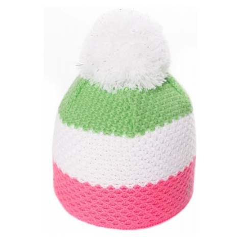 R-JET KIDS' HAT JR green - Girls' knitted hat
