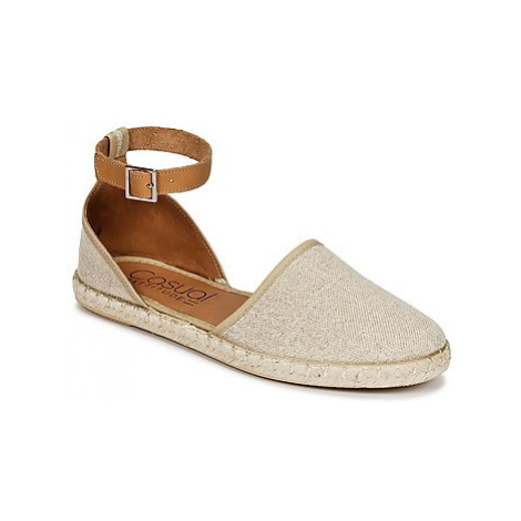 Casual Attitude IZE women's Espadrilles / Casual Shoes in Gold