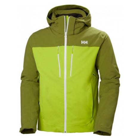Helly Hansen SIGNAL JACKET green - Men's ski jacket
