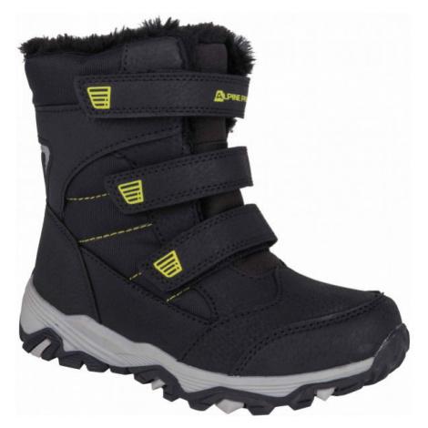 ALPINE PRO KURTO white - Kids' winter footwear