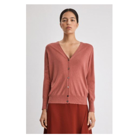Silk Mix V-Neck Cardigan Filippa K