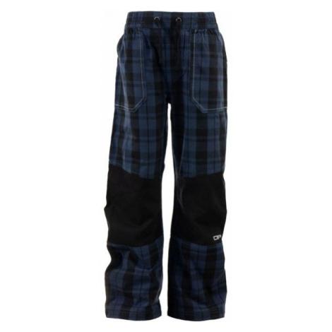 ALPINE PRO RAFIKO 3 blue - Boys' outdoor trousers