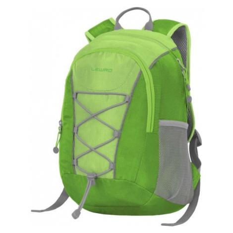 Lewro DINO 12 green - Universal children's backpack