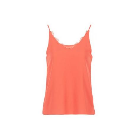 Pink women's tank tops