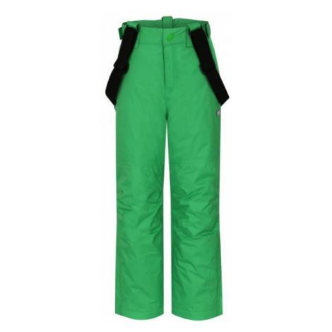 Loap FUGO green - Kids' ski trousers