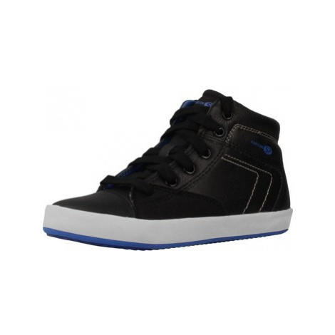 Geox J GISLI BOY boys's Children's Shoes (High-top Trainers) in Black