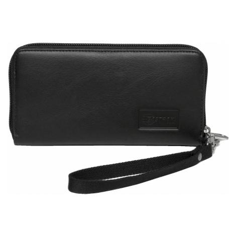 wallet Eastpak Kai Single - Black Ink Leather - women´s