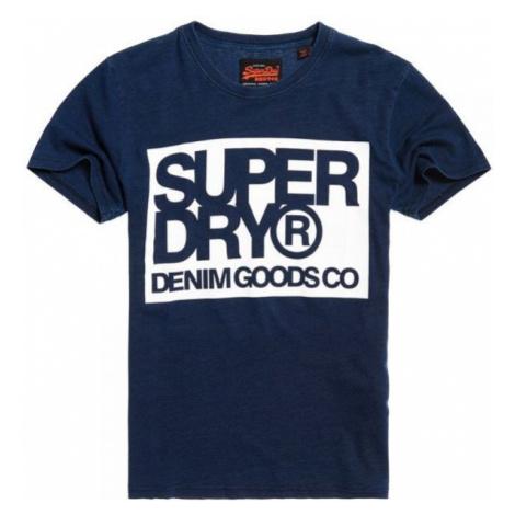 Superdry DENIM GOODS CO TEE dark blue - Men's T-Shirt