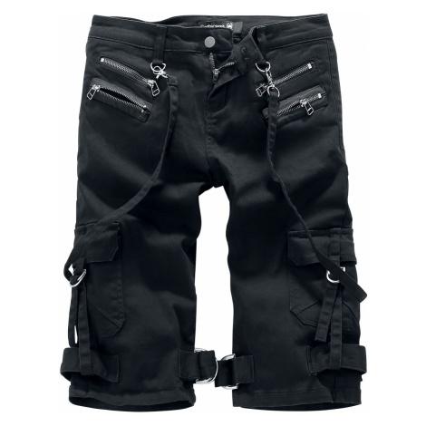 Gothicana by EMP Pandora's Box Shorts black