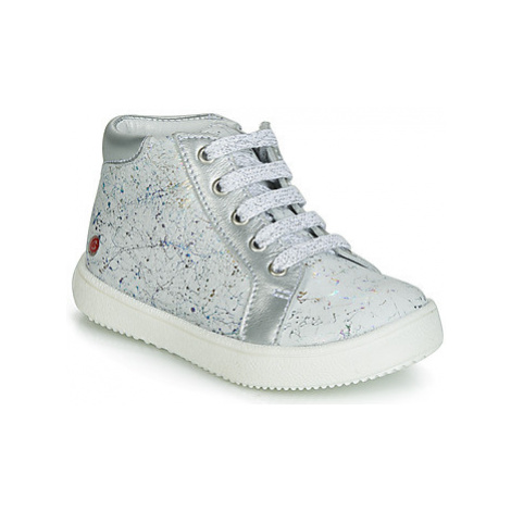 GBB MEFITA girls's Children's Shoes (High-top Trainers) in White