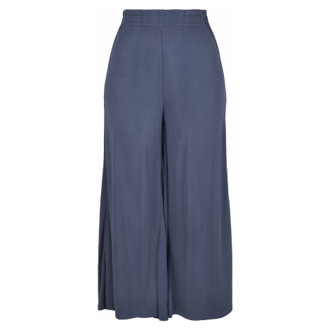 Urban Classics - Ladies Modal Culotte - Girls trousers - blue