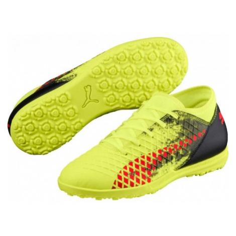 Puma FUTURE 18.4 TT JR yellow - Kids' cleats