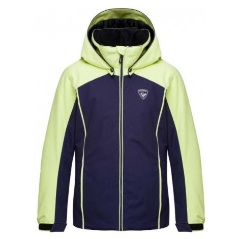 Rossignol GIRL FONCTION JKT blue - Girls' ski jacket