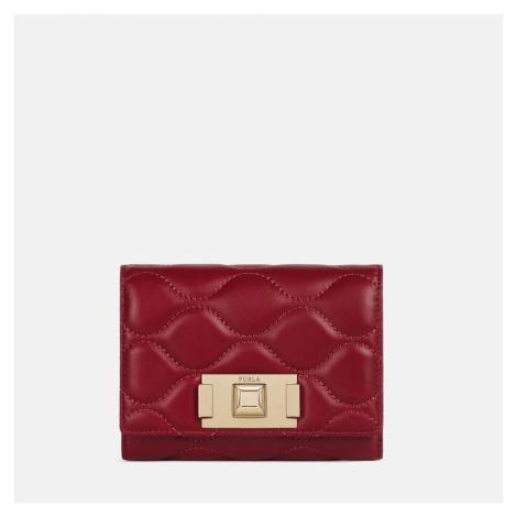 Furla Women's Tuberosa Mini Card Case - Ruby