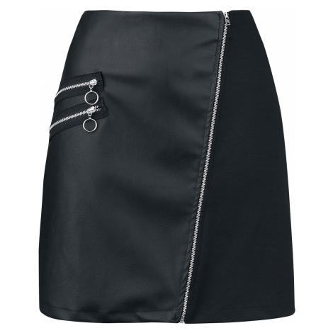 Outer Vision - Madonna Skirt - Mini skirt - black