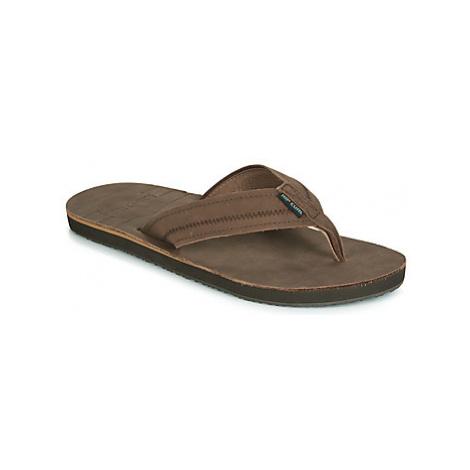 Rip Curl TRESTLES men's Flip flops / Sandals (Shoes) in Brown