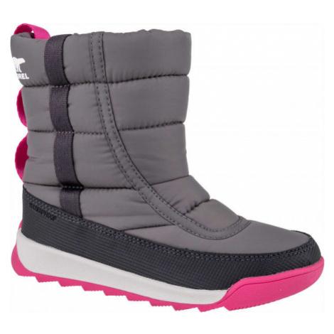Sorel YOUTH WHITNEY II PUFFY M gray - Kids' winter shoes
