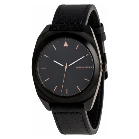 watch Quiksilver The Pm Leather - XKMK/Black/Rose Gold/Black