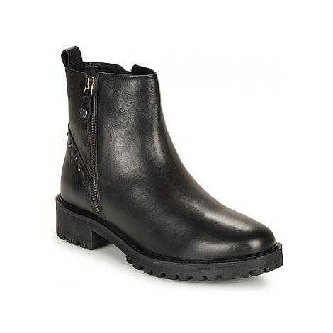 Geox D HOARA women's Mid Boots in Black