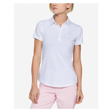 Under Armour Zinger Polo T-shirt White