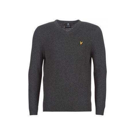 Lyle Scott KN401VC-400 men's Sweater in Grey