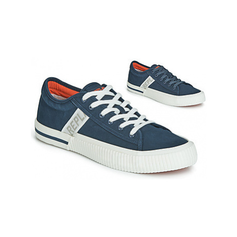 Replay KINARD T men's Shoes (Trainers) in Blue