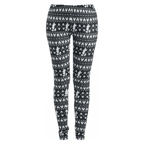 Mickey Mouse - Winter - Leggings - black-white